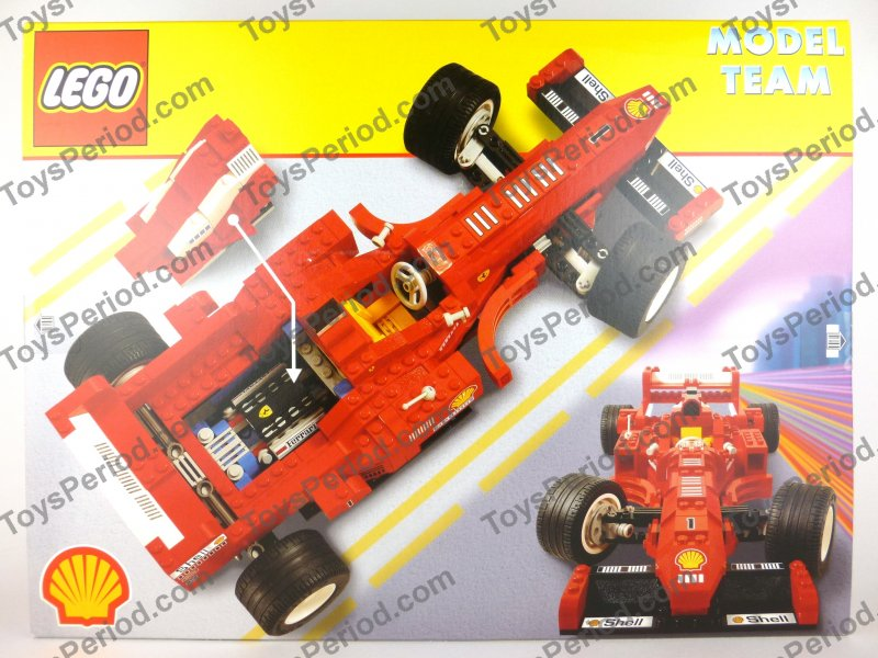 Lego 2556 Ferrari Formula 1 Racing Car Shell Vintage 97