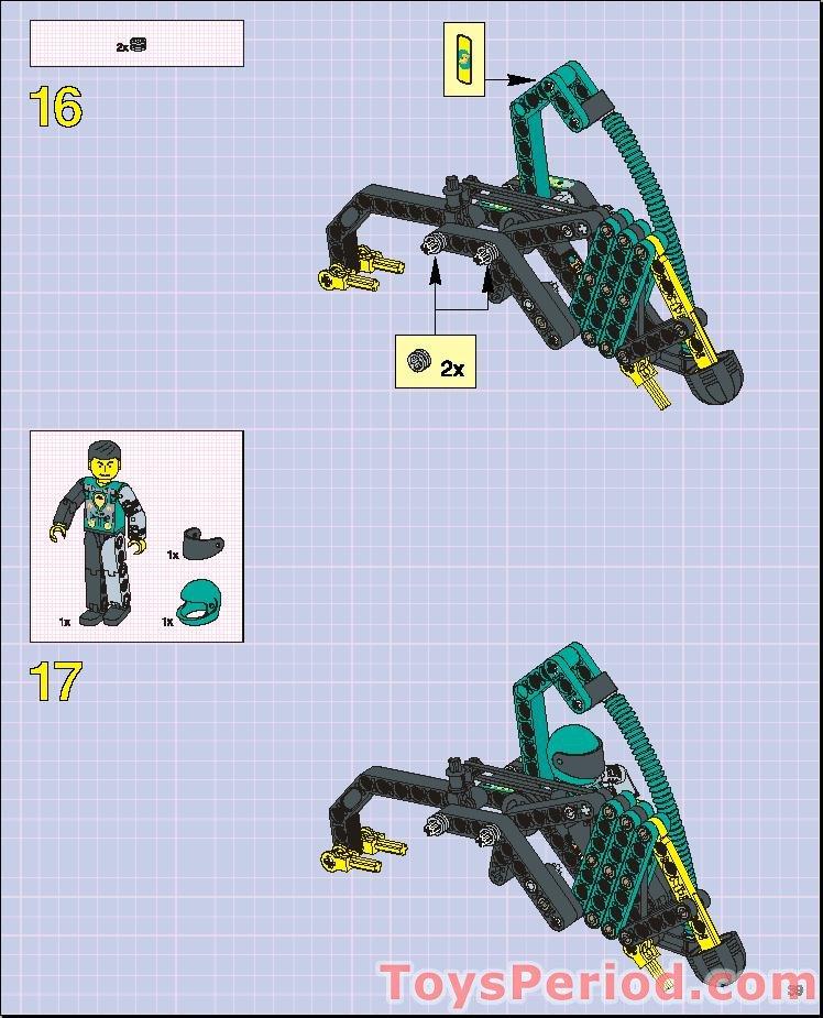 lego technic robot arm instructions