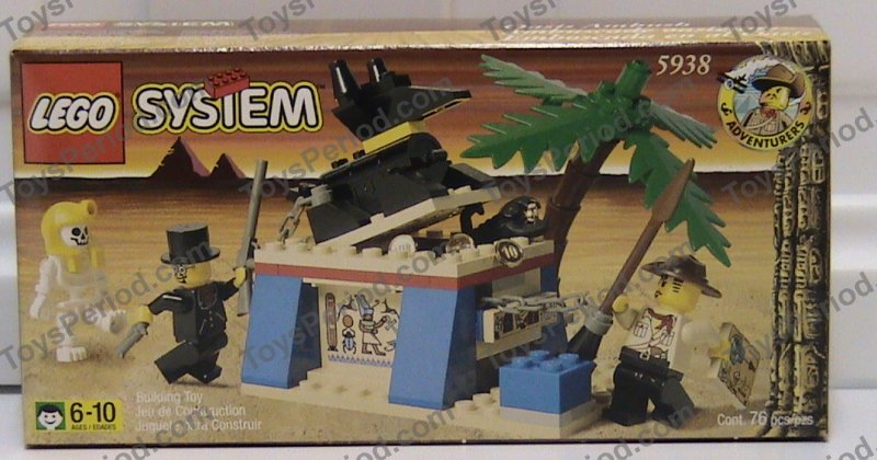 Lego 5938 Oasis Ambush Set Parts Inventory And