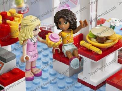 Lego 3061 City Park Cafe Set Parts Inventory And Instructions Lego