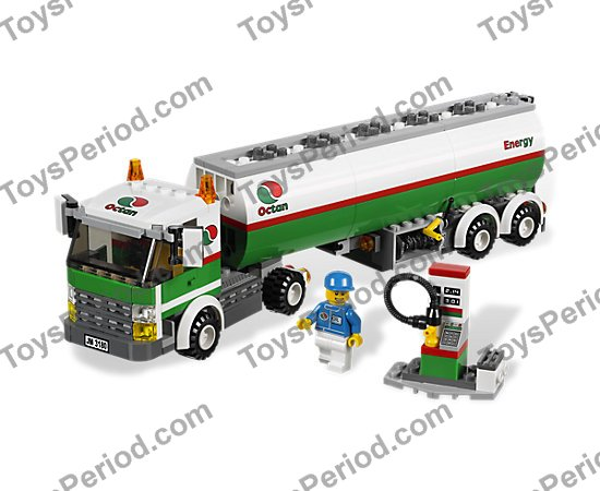 Lego 3180 Tank Truck Set Parts Inventory And Instructions Lego