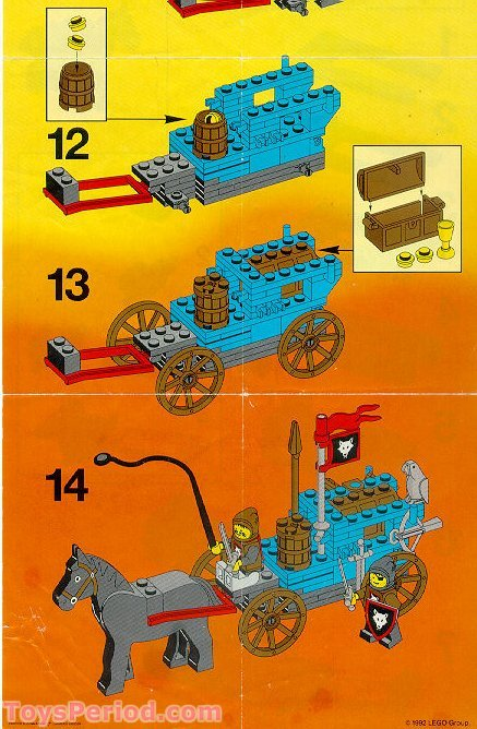 Lego 6038 Wolfpack Renegades Set Parts Inventory And
