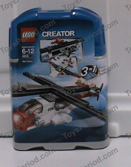 lego 4918 mini flyers set parts inventory and instructions lego