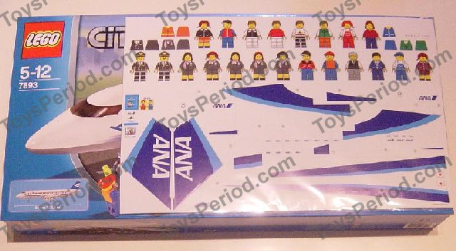 lego passenger plane 7893 instructions