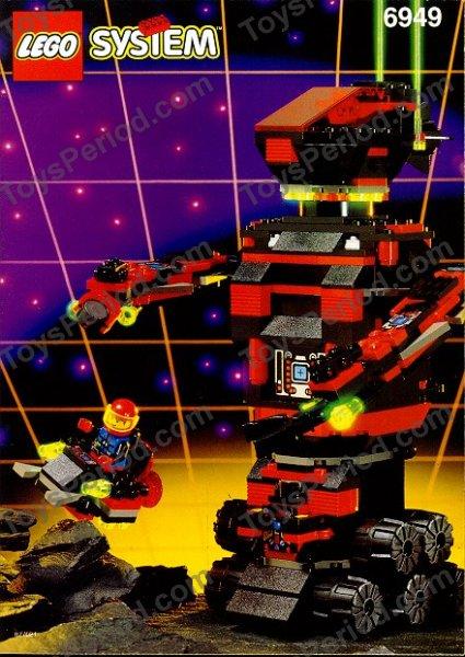 LEGO x 10 Black Minifig Head Alien with Robot Silver Pattern space Spyrius