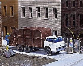 Trucks For Sale Magnuson 439-955 Garbage Truck HO Scale Resin Vehicle Kit Image Number ...