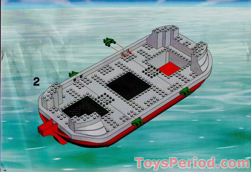 Lego 7075 1 Captain Redbeards Pirate Ship Set Parts Inventory And