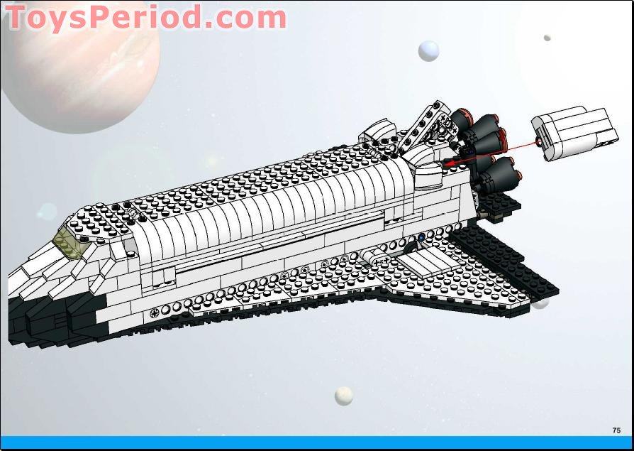 lego space shuttle parts - photo #41