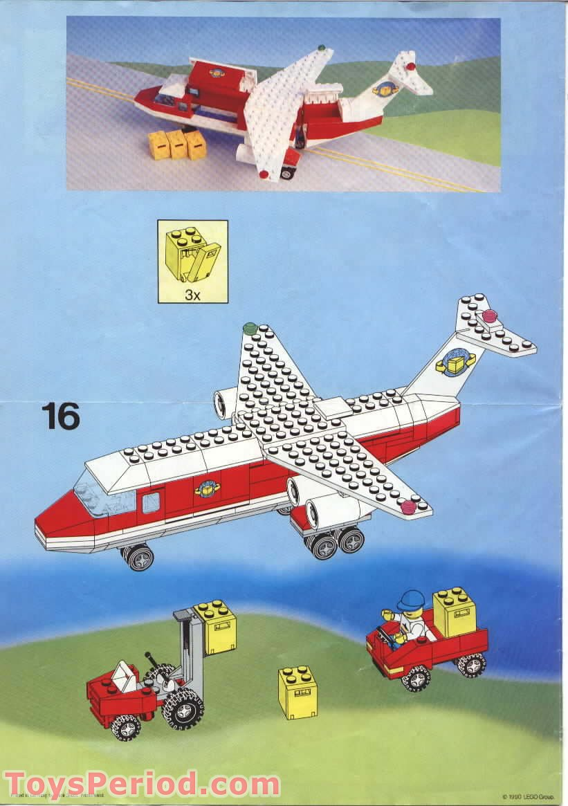 Lego 6375 1 Trans Air Carrier Set Parts Inventory And