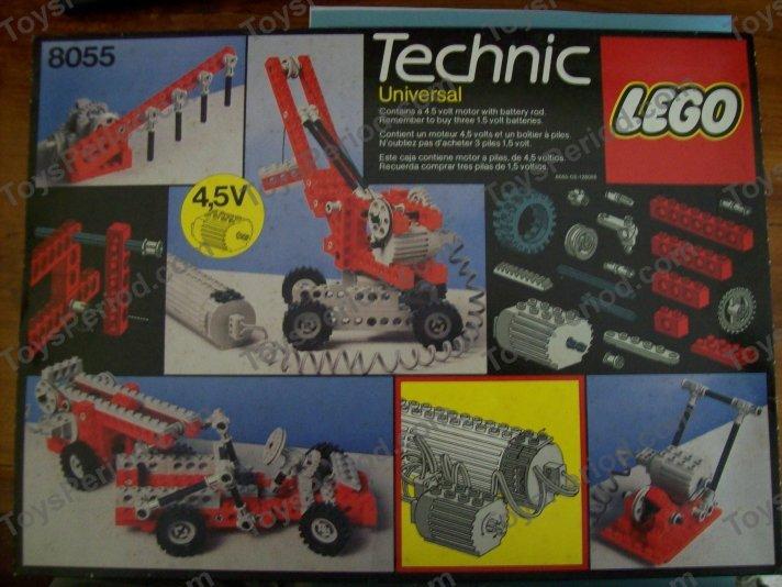 lego 8055 universal building set with motor set parts. Black Bedroom Furniture Sets. Home Design Ideas