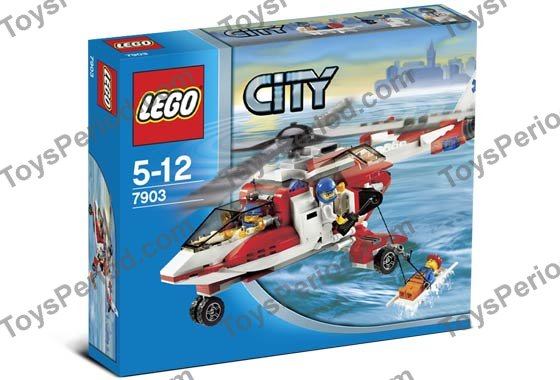 lego city ambulance helicopter instructions