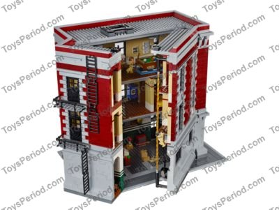 Lego 75827 Firehouse Headquarters Set Parts Inventory And