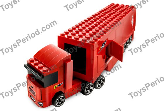lego 8153 ferrari f1 truck 1 55 set parts inventory and. Black Bedroom Furniture Sets. Home Design Ideas