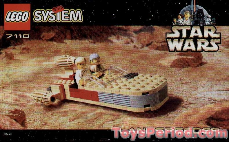 Lego 7110 Landspeeder Set Parts Inventory And Instructions Lego