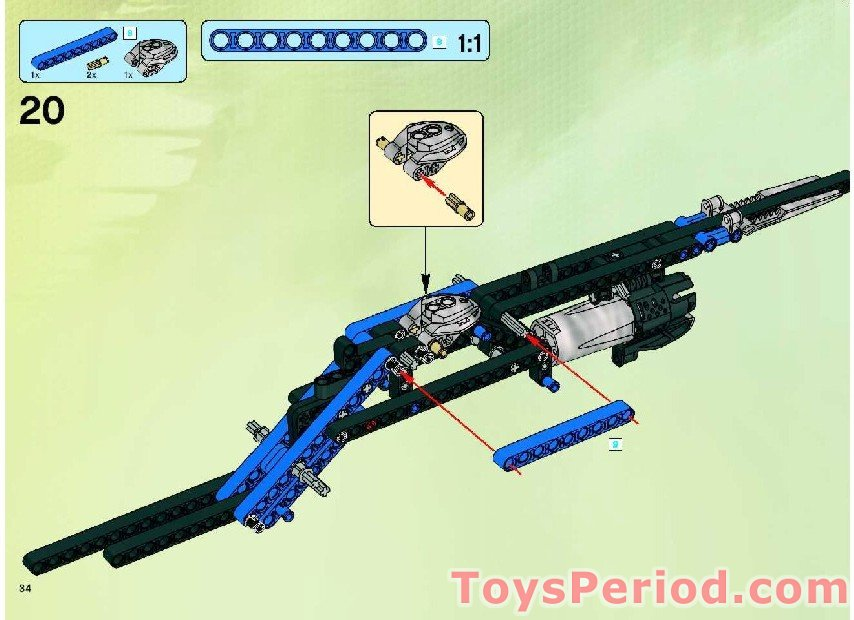 Lego 8942 1 Jetrax T6 Set Parts Inventory And Instructions Lego