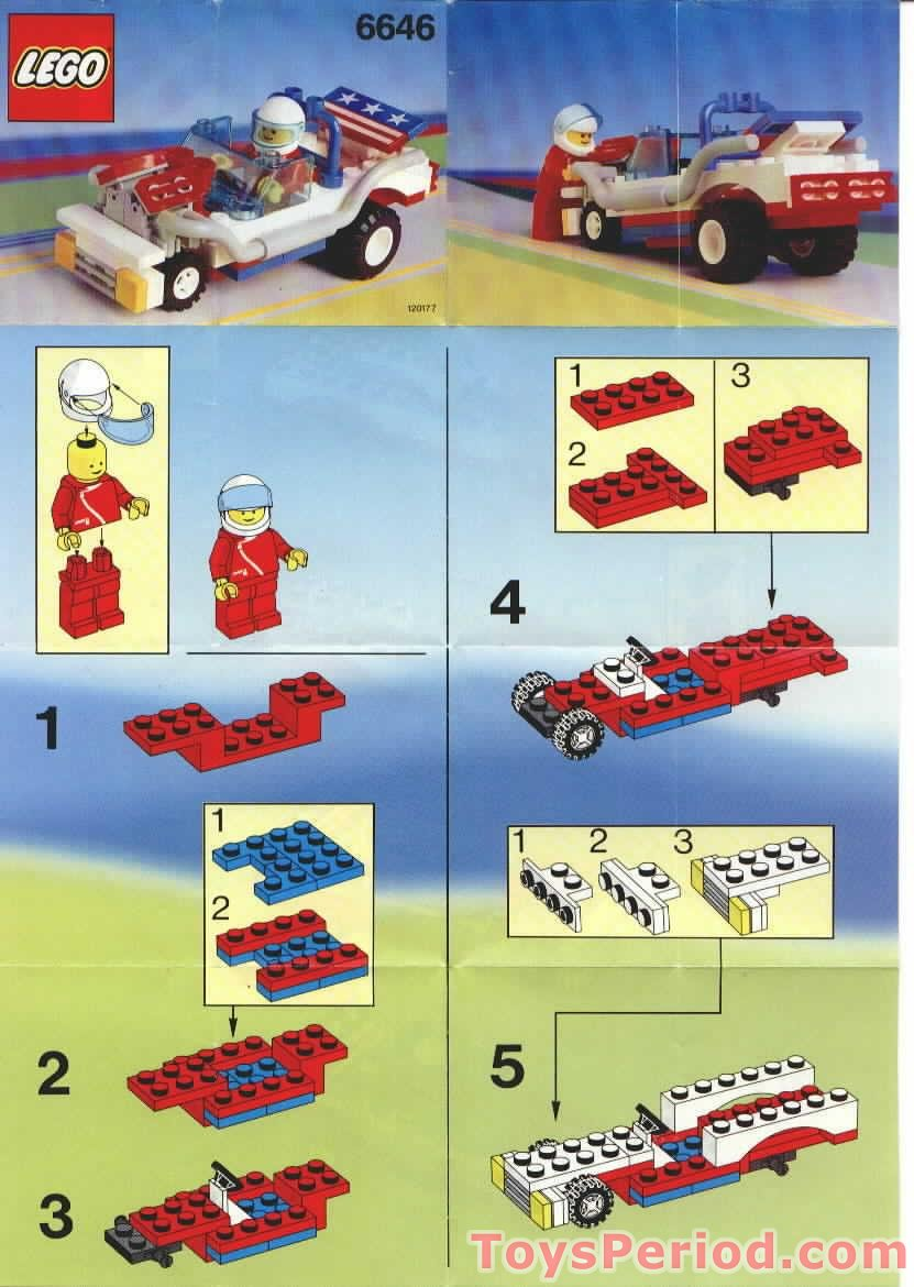 Lego 6646 Screaming Patriot Set Parts Inventory And Instructions