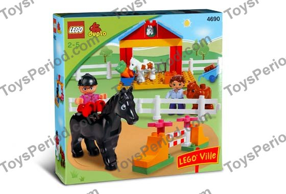duplo horse stable instructions