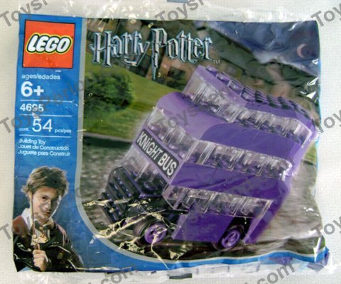 Genuine Lego 4695 Harry Potter MINI KNIGHT BUS Complete-100/% 1 Fast Shipping!