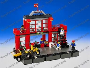 lego train station instructions