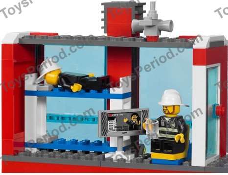 Lego 7208 Fire Station Set Parts Inventory And Instructions Lego