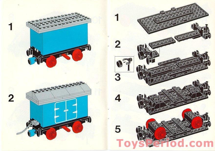 Lego 7720 Diesel Freight Train Set Battery Set Parts