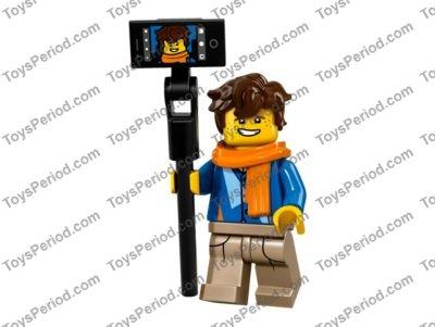 NEW Lego Sensei Wu WHITE MINIFIG TORSO Ninjago Black Dragon Master Robe Shirt