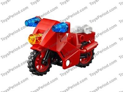 110 pieces LEGO City Juniors 10740 Fire Patrol Suitcase