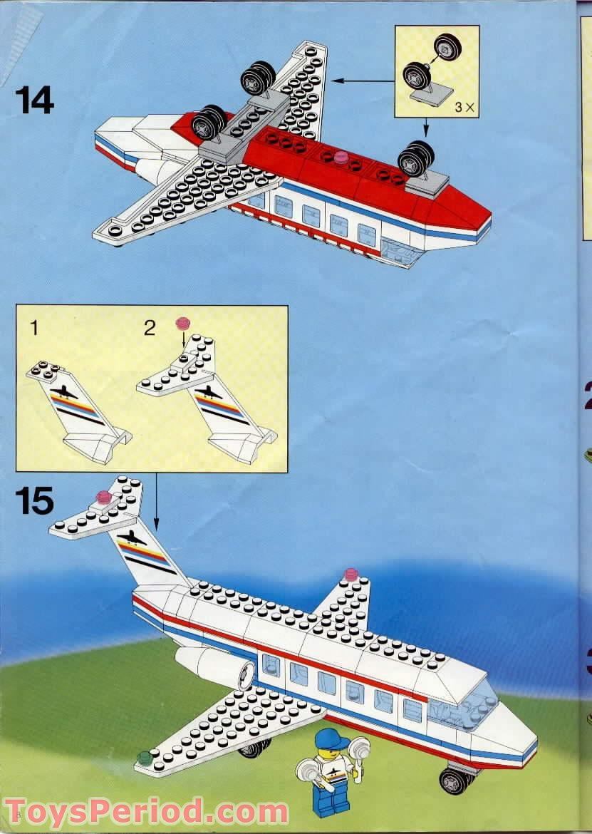 Lego 6396 International Jetport Set Parts Inventory And