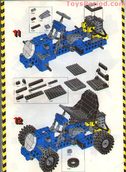 Lego 948 Go Kart Set Parts Inventory And Instructions Lego