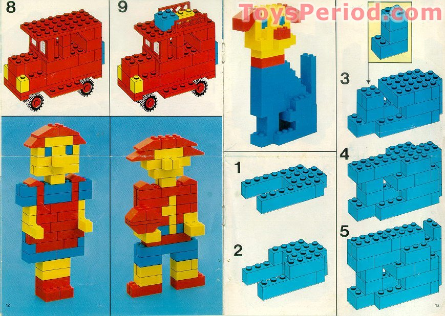 Lego 520 1 Basic Building Set Set Parts Inventory And Instructions