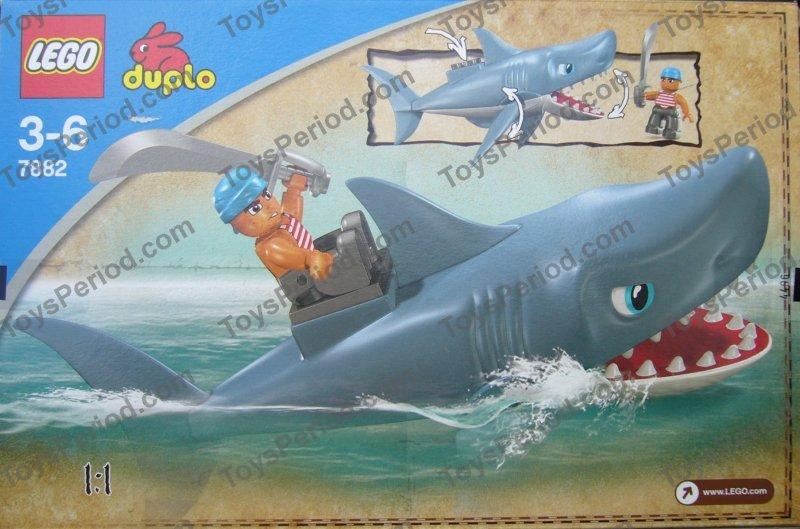 Lego Shark Toys : Lego shark attack set parts inventory and