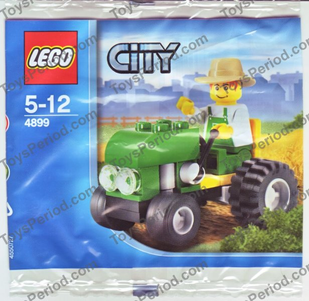 *BRAND NEW* Lego City FARM TRACTOR Polybag 4899