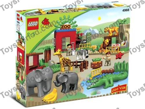 Lego 4968 Friendly Zoo Set Parts Inventory And