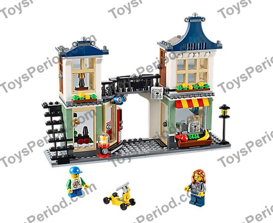 Lego 31036 Toy Grocery Shop Set Parts Inventory And Instructions