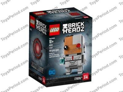 Lego Brickheadz 41601 Cyborg New Sealed 2017 DC Justice League Series 2 #24