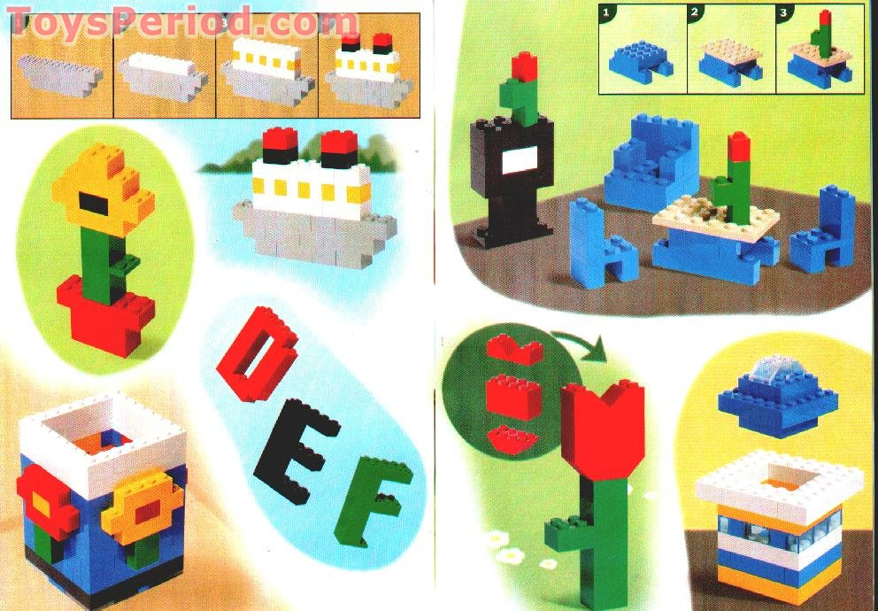 LEGO 4107 Build Your Dreams Set Parts Inventory and Instructions ...