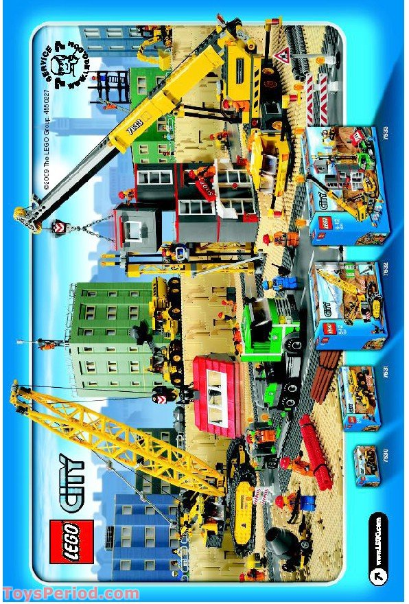 how to build a lego city part 1