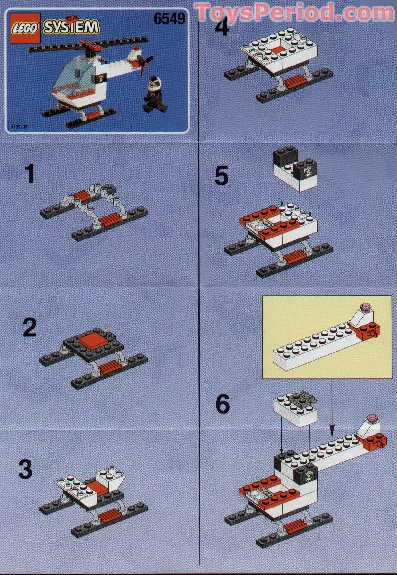 Lego 6549 Roadblock Runners Set Parts Inventory And