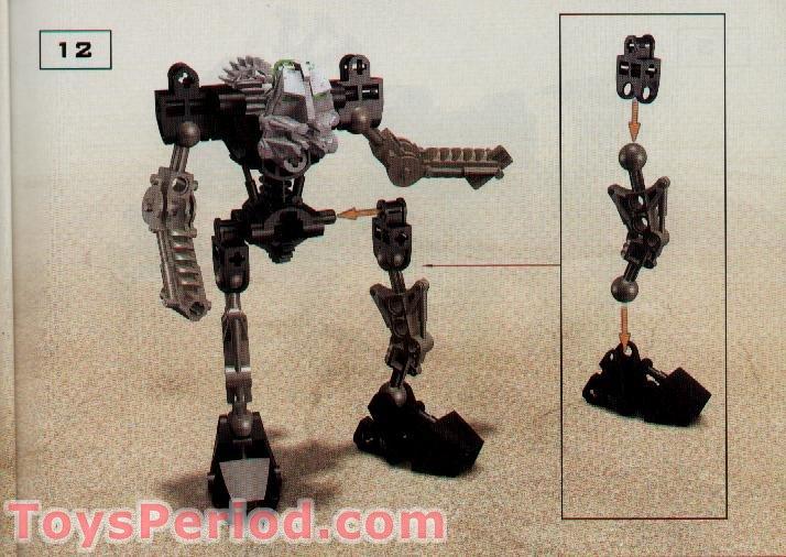 100/% Complete Figure Lego 8532 Bionicle Toa Mata ONUA