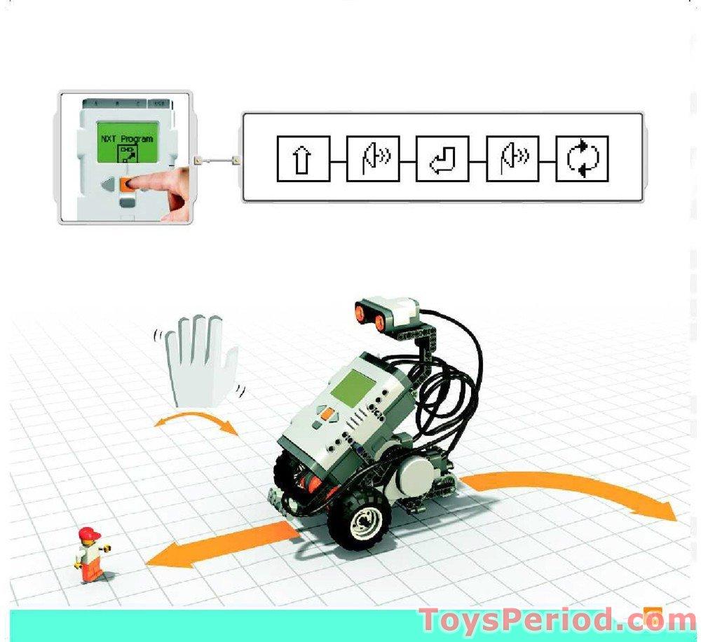 LEGO 9797 LEGO Mindstorms Education NXT Base Set Set Parts