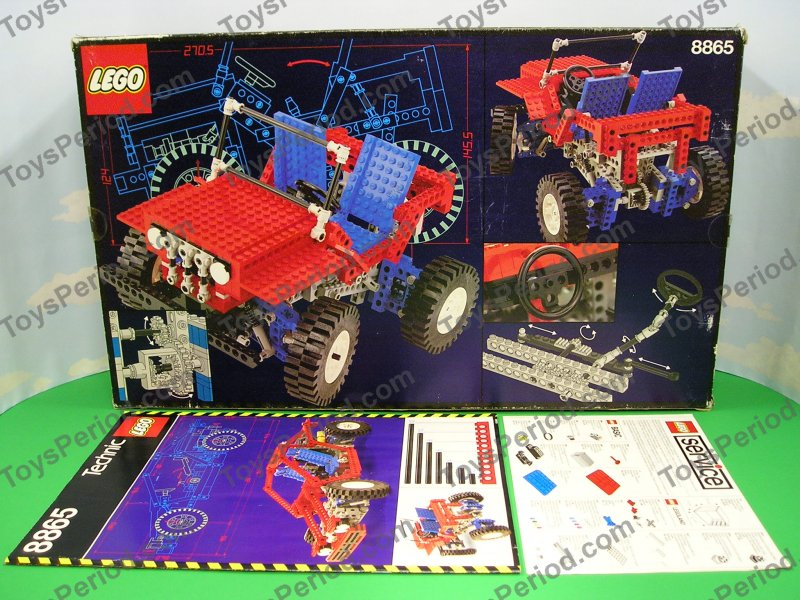 lego 8865 test car vintage technic advanced auto set new. Black Bedroom Furniture Sets. Home Design Ideas