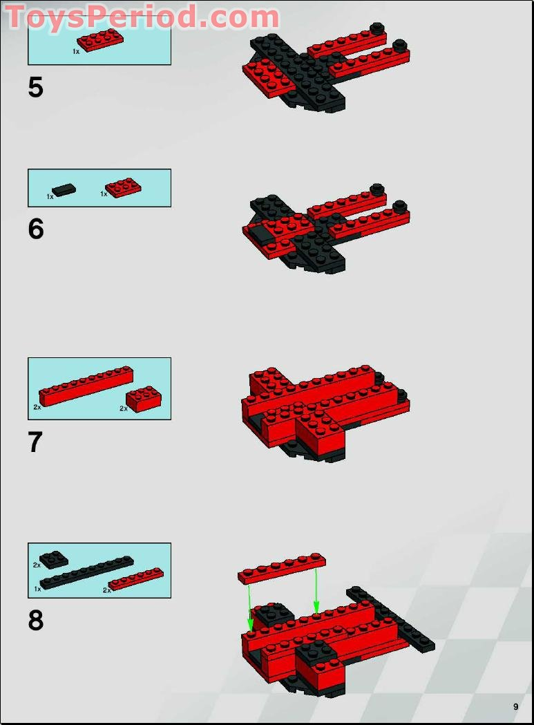 Instructions Of Lego 3862 To Download