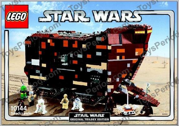 STAR WARS LEGO MINIFIGURE TREADWELL DROID FROM 10144 SANDCRAWLER SET JAWA RARE@@