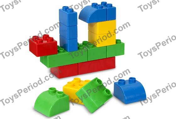 Lego 5355 Small Quatro Bucket 20 Extra Large Bricks Set