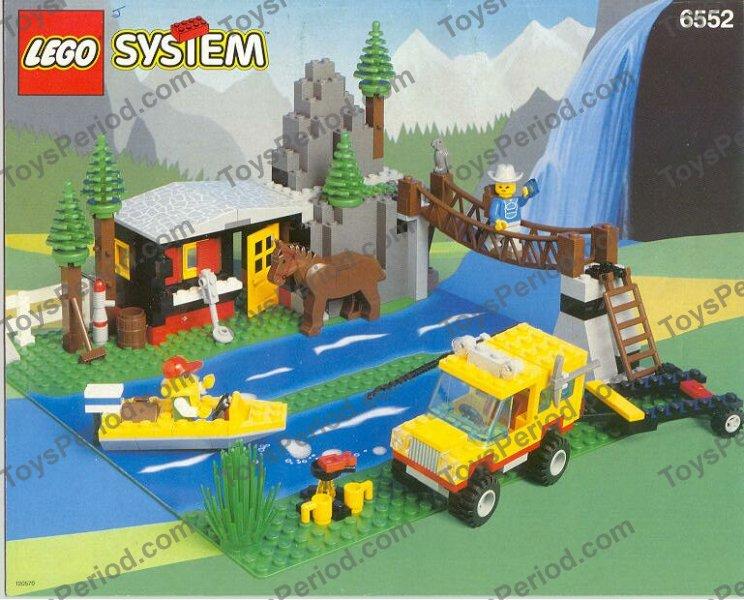 Lego 1x Rope Bridge Bridge 2549 Brown// Brown// Braun