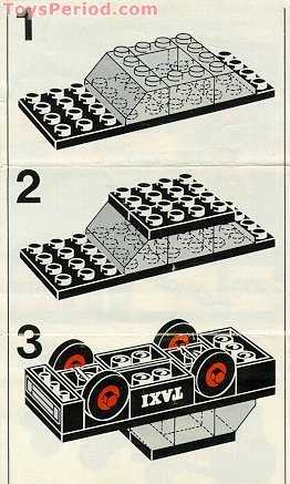 LEGO 605-2 Taxi Set Parts Inventory and Instructions ...