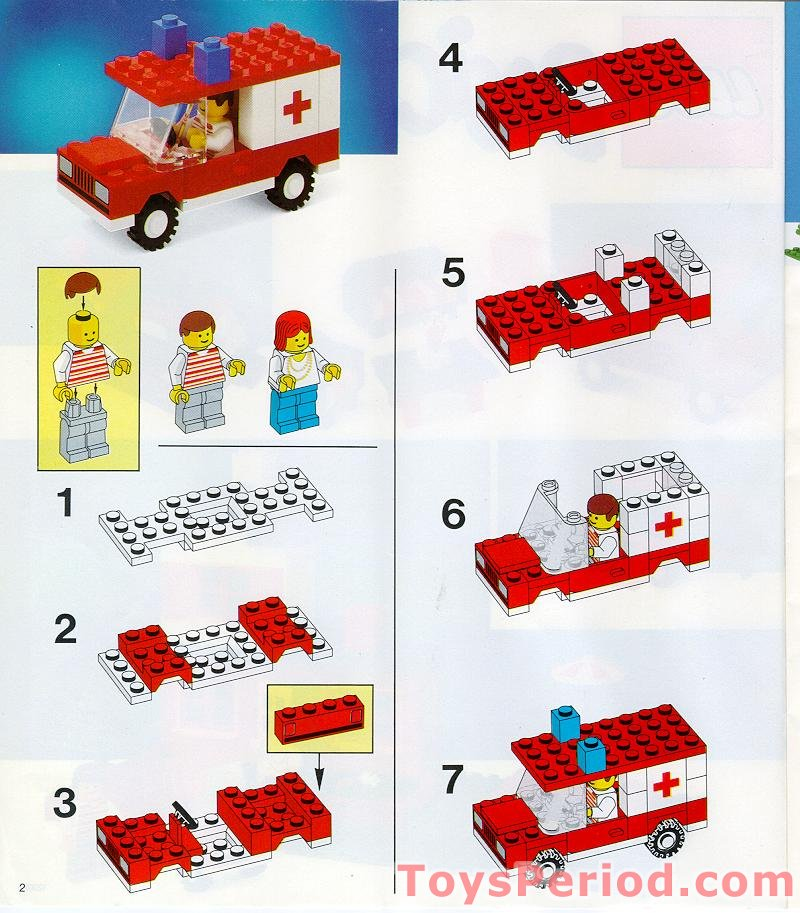 LEGO 545-1 Build-N-Store Chest, 5 Plus Set Parts Inventory and Instructions - LEGO Reference Guide