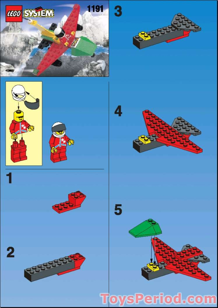 Lego 1191 Try Bird Set Parts Inventory And Instructions
