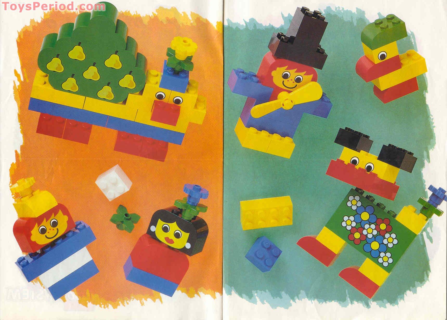 Lego 4135 Freestyle Garden Friends Tote 3 Plus Set Parts