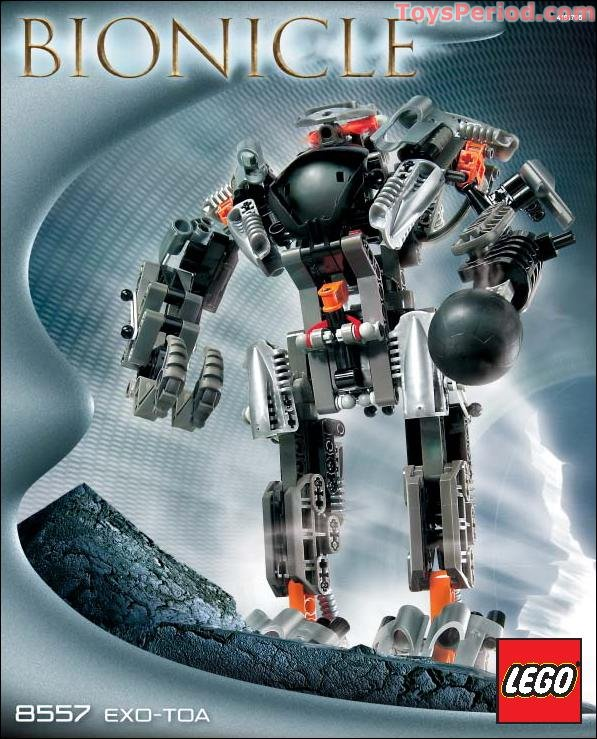 Lego 8557 Exo Toa Set Parts Inventory And Instructions